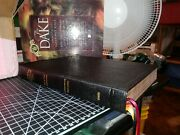Dake's Annotated Reference Bible, Black Genuine Leather, 4 Column Large Note.