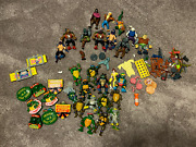 Teenage Mutant Ninja Turtles Tmnt With Villains And Weapons And Accessories