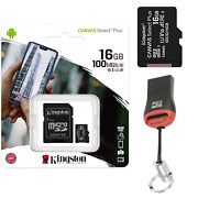 Memory Card Kingston For Oneplus Nord 2 Micro Sd Card Sdxs Canvas 16 - 512 Gb
