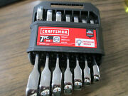 Craftsman 7pc Sae 12pt. Stubby Ratcheting Wrenches - Cmmt87026