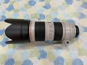 Canon Ef 70-200 Mm F/2.8l Is Iii Usm Camera Lens Open Box Condition