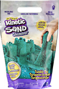 Kinetic Sand Twinkly Teal 2lb Bag Of All-natural Shimmering Play Sand For Squis