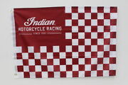 Indian Motorcycles New Oem 35 X 23 Racing Flag Banner