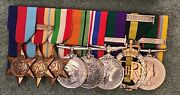 Ww2 Medal Group Lieutenant Colonel Berkshire Regiment - More Pictures Added