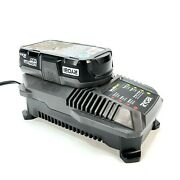 Ryobi P190 Battery And Charger Combo One+ 18v System 2ah Li-ion P190 P118