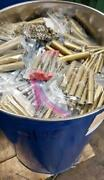 Giant End Mill Lot 570 Pcs. 3/16 - 2 New In Sealed 55 Gallon Drum Usa