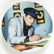 Elvis Presley 1991 Closing The Deal Plate Looking At A Legend Collection