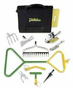20 Piece Garden Tool System With Organizing Tote And Kneeling Pad