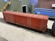 Custom Painted Patched Weathered Grimy Ho Scale Atlas Master Cnw Wrwk Boxcar