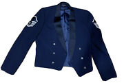 United States Menandrsquos Air Force Mess Dress Uniform Used Great Condition
