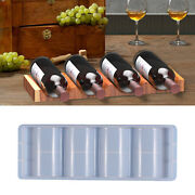 Wine Bottle Rack Holder Silicone Molds Making Tools Art Crafts Supplies