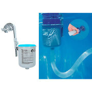 1 Set Pool Wall Mount Surface Skimmer Automatic Cleaning Collect Debris