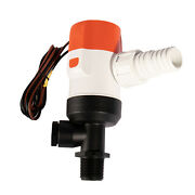 Boat Baitwell Pump 405fc Straight 12-volt Rotatable Base High Performance