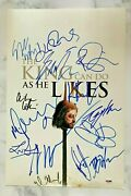 Game Of Thrones X13 Signed Autograph 12x18 Photo Emilia Dinklage Kit Beckett Loa