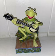 2013 Hallmark The Muppets The Rainbow Connection Kermit The Frog Banjo Christmas
