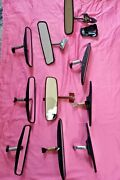 1960s-1970s- Early 1980and039s --lot Of 10 Rearview Mirrors Various Cars Models