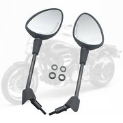 Rear View Mirrors For Vespa Gt Gts Gtv 50 125 200 Spare Parts Durable Black