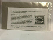1918 24-cent Inverted Jenny Stamp - Unopened Package Commemoration