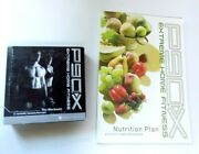 Beachbody P90x Extreme Home Fitness 12 Dvds + Nutrition Plan Book