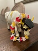 Cows On Parade Figurine Rock And Roll Cow Item 9137