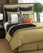 Rodeo Drive Tan Solid Queen Comforter New Vintage Rare