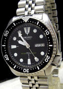 Vintage Seiko Diver's 6309-7290 Analog Men's Watch Automatic Used Authentic