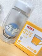 Demon Clear Bottle Thermos Thermal Mug Set