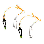 2pcs Heavy-duty Outrigger Power Grip Snap Release Clip For Sea Fishing