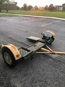 Used 2012 Wide Hd Master Tow Dolly Rv Trailer Car Hauler