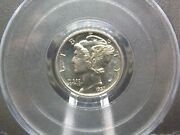1937 Proof Mercury Silver Dime 10c Pcgs Pr65 East Coast Coin And Collectables Inc