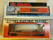 Lionel 6-52040 Ttos Flat Car With 6-52033 Wolverine Division Tractor And Trailer