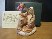 Harmony Kingdom Let Freedom Ring V2 Philly Evt Pc Horse Eagle Raven Sgn Rare 500