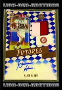 Najee Harris 2021 Legacy Futures Saphire Rpa Patch Auto Sp Rc Jersey22/25 1/1