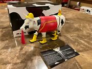 Cows On Parade Figurine Udder Cowstruction 7248 Retired