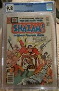 Shazam 27 Cgc 9.8 1st Appearance Of Modern Kid Eternity White Pages