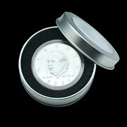2021 Us President Biden Silver Plated Coin Challenge Metal Coins In Gift Box
