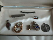 Wwii Korea Us Military Army Navy Pins Sterling Silver 191