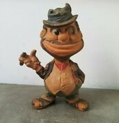 40and039s Rempel Mfg. Brooklyn Dodgers Ho Jo The Hobo Bum Mascot. Vintage Rubber Toy