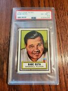 1952 Topps Look N See Babe Ruth 15 Psa 6.5