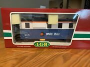 Lgb 44710 White Pass Extended Vision Caboose