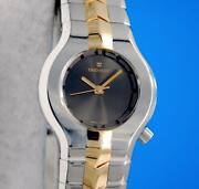 Ladies Tag Heuer Alter Ego 18k Gold And Ss Watch - Anthracite Dial - Wp1351