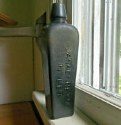 Rare 8small Size Blankenheym And Nolet Emb 1880s Case Gin Bottle Crude Lip
