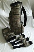 Charles And Larkin Golf Bag W/ Strap Top Guard And Head Covers Only One On Ebay.