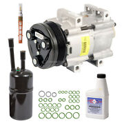 For Ford Escort 1998 1999 2000 2001 2002 Oem Ac Compressor W/ A/c Repair Kit Csw