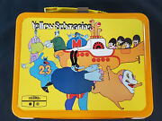 1968 Yellow Submarine Beatles Metal Lunch Box Complete Great Condition