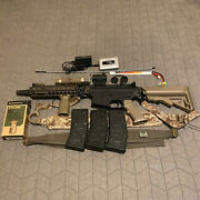 Airsoft Vfc Mk18 Aeg Daniel Defense With Avalon Gearbox And Lots Of Accessories