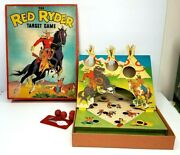 Red Ryder Target Game 1939 With Box Whitman Co 2914 Original Vintage Western