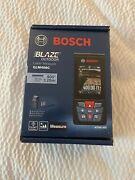 New Bosch Blaze Outdoor 400ft Laser Measure W/bluetooth And Viewfinder Glm400c