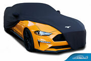 2010-2021 Ford Mustang - Coverking Moda Stretch Black Car Cover With Logo And Bag