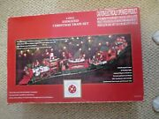 Dillard's Trimmings Animated Christmas Train Set By New Bright 833 G Scale